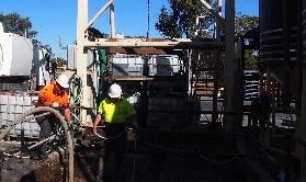 industrial vacuum loading